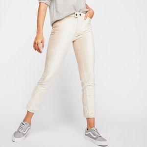 NEW Free People Sweet Jane Velvet Skinny Jeans